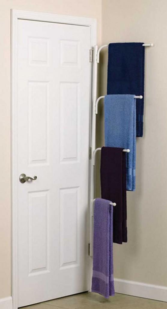 DIY ιδέες οργάνωσης για τις πετσέτες του μπάνιου σας.7