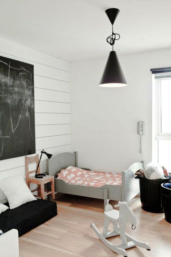 Ιδέες ντεκόρ μαυροπίνακα για παιδικά δωμάτια15