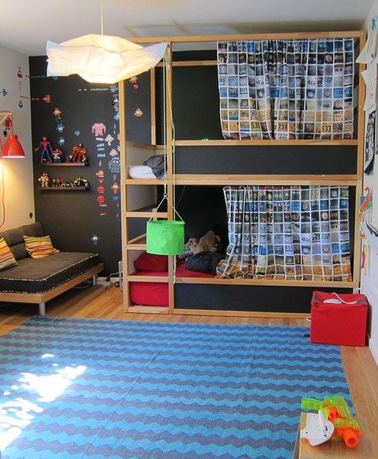 Ιδέες ντεκόρ μαυροπίνακα για παιδικά δωμάτια27