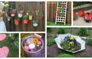 Εξαιρετικά φοβερά DIY έργα για να ομορφύνετε τον κήπο σας αυτό το καλοκαίρι