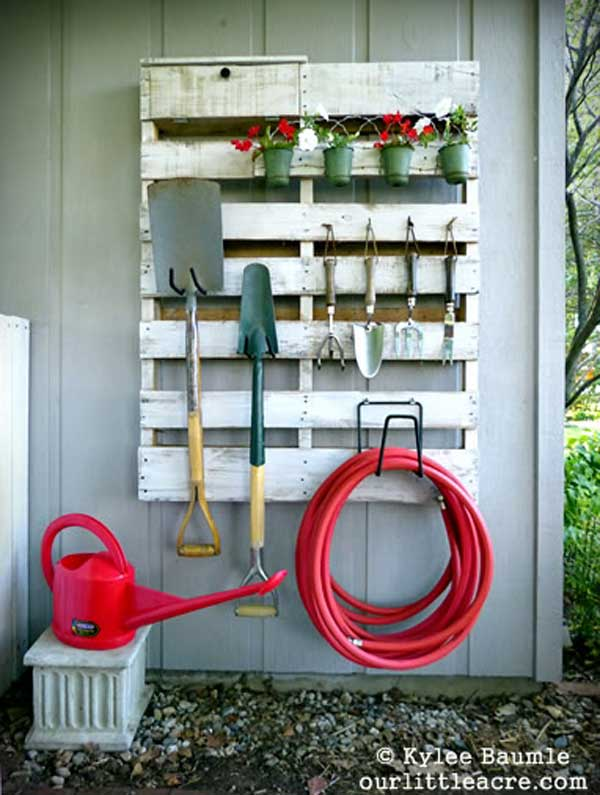 DIY λύσεις αποθηκευτικού χώρου για την αυλή και τον κήπο σας5