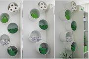 Ιδέες για να δημιουργήστε χώρο αποθήκευσης στον τοίχο του μπάνιου σας