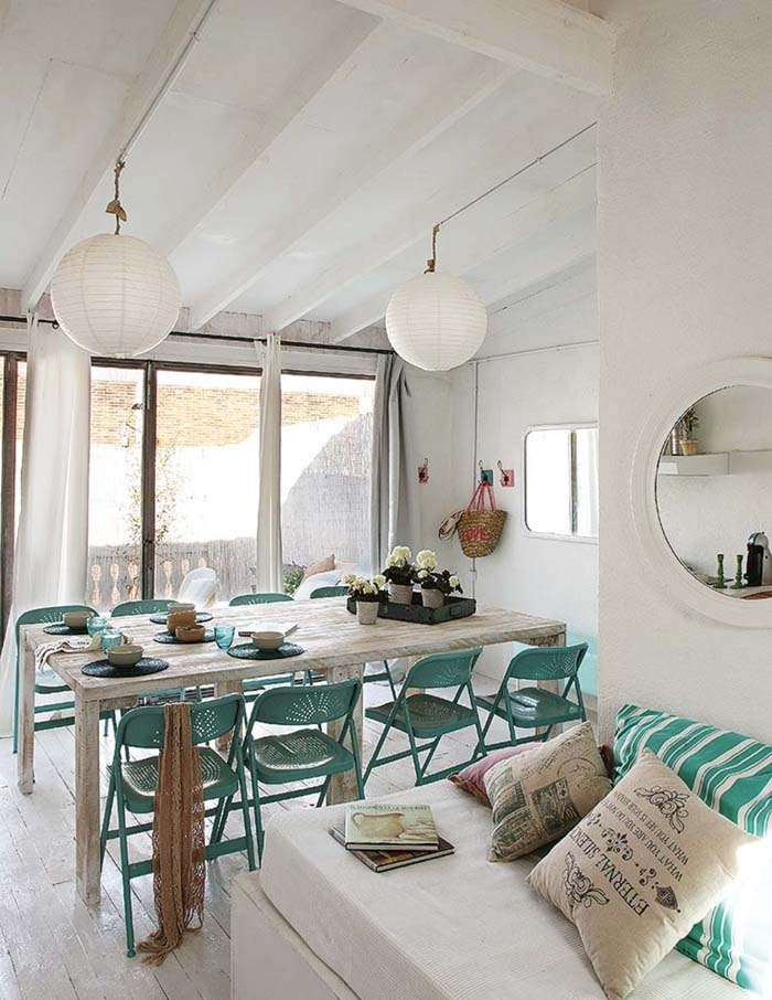 Vintage τόνοι και παστέλ χρώματα σε ένα απίθανο σπίτι στη Βαρκελώνη7