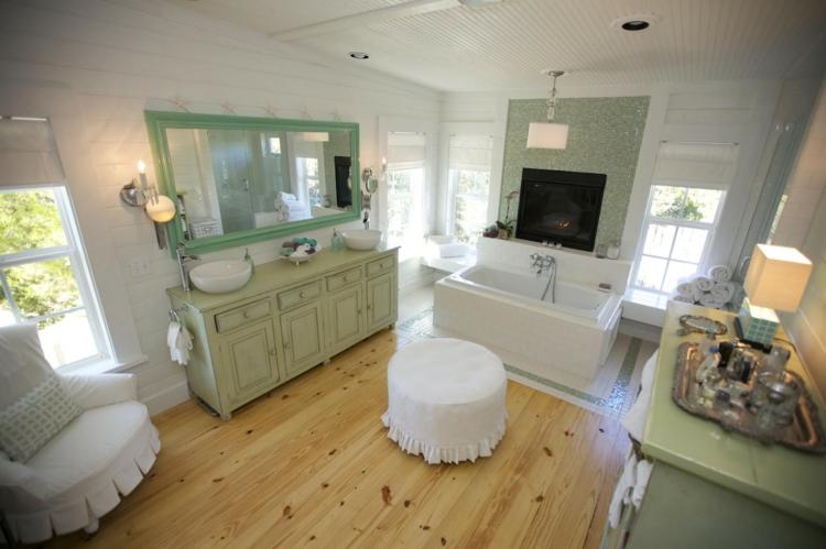 Shabby chic μπάνιο ιδέες32