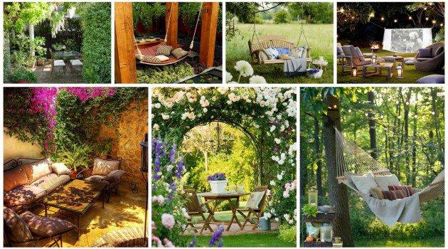 20 Μοναδικά καταφύγια στον κήπο για πραγματική απόλαυση και χαλάρωση