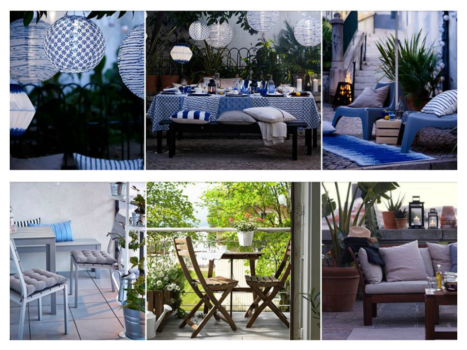 Ikea έπιπλα κήπου για μια μικρή όαση στο μπαλκόνι και την αυλή