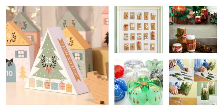 Χριστουγεννιάτικη διακόσμηση για να κάνετε μόνοι σας - 80 εύκολες DIY ιδέες