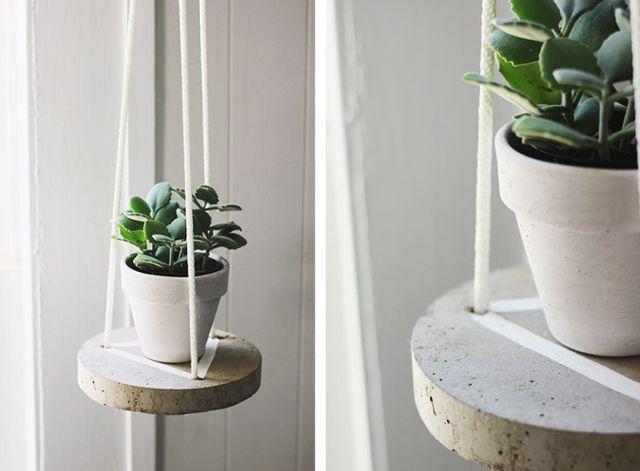 DIY διακοσμητικές ιδέες με τσιμέντο11
