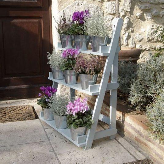 κήπος ξύλινη σκάλα7