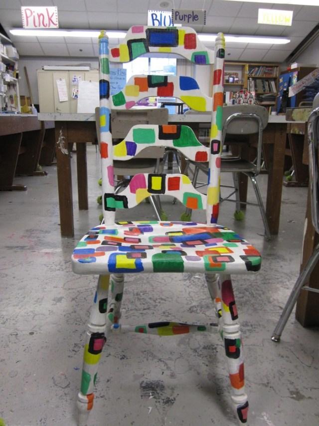 πώς να διακοσμήσετε και να βάψετε παλιές καρέκλες42