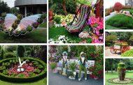 50 Αριστουργηματικές διακοσμήσεις κήπων που θα σας εντυπωσιάσουν