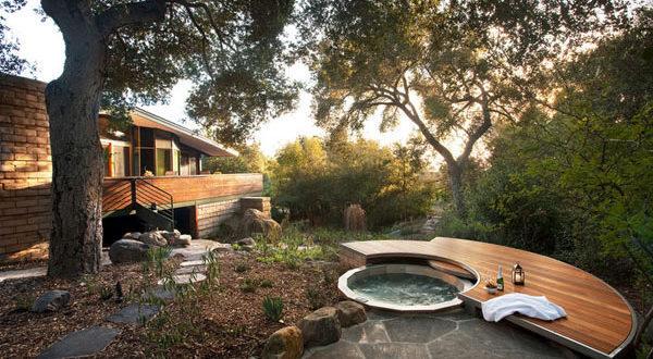 μικρή πισίνα στον κήπο1
