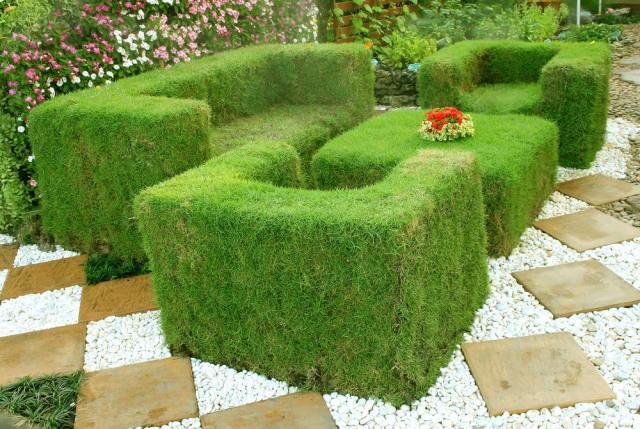 παγκάκια κήπου2