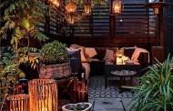 Υπέροχες ιδέες για τη δημιουργία ενός ιδιωτικού Cafe στη βεράντα σας