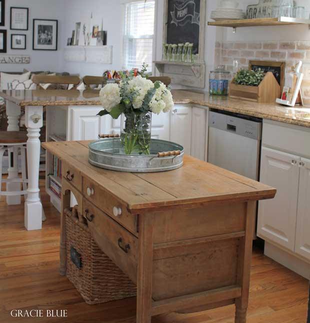 ρουστίκ, χωριάτικη διακόσμηση κουζίνας3