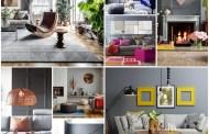Σαλόνι σε γκρι χρώμα: σχεδιαστικές συμβουλές και παραλλαγές συνδυασμών με άλλες αποχρώσεις