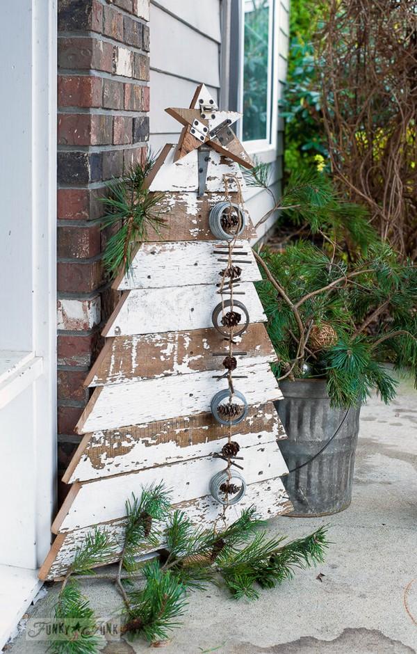 Rustic χωριάτικη Χριστουγεννιάτικη διακόσμηση1