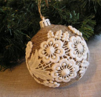 Rustic χωριάτικη Χριστουγεννιάτικη διακόσμηση49
