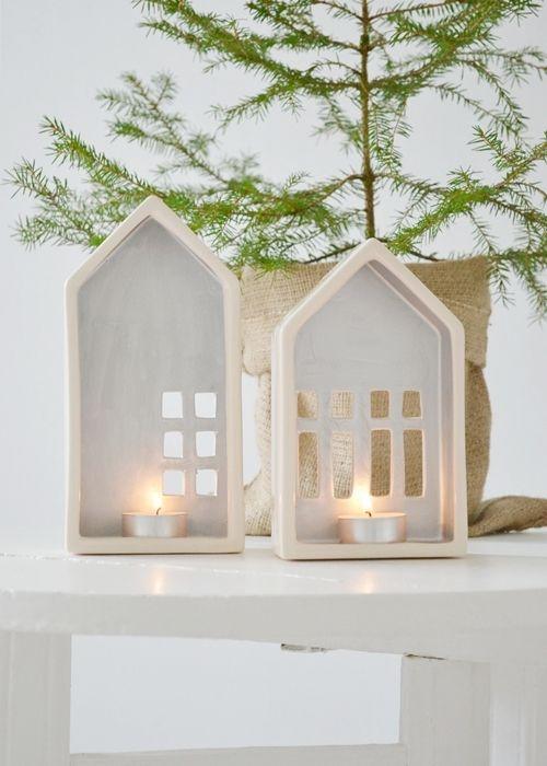 Χριστουγεννιάτικη διακόσμηση με κεριά23