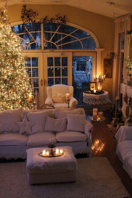 Χριστουγεννιάτικη διακόσμηση με κεριά37