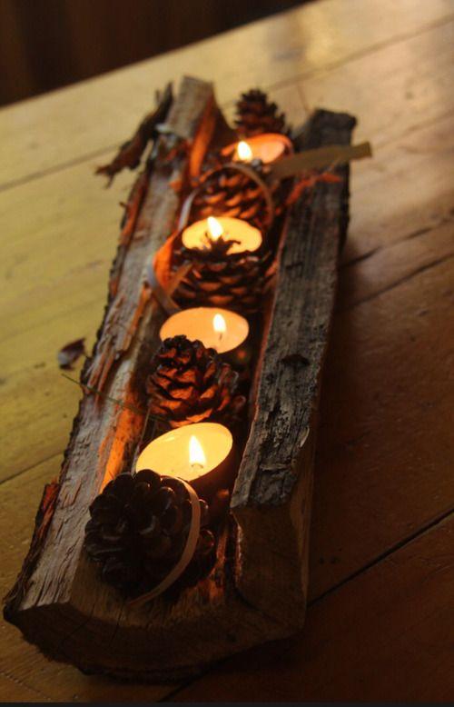 Χριστουγεννιάτικη διακόσμηση με κεριά56