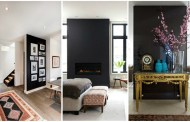 Βάψτε ένα τοίχο μαύρο και κάντε μια τολμηρή δήλωση στην διακόσμηση του σπιτιού σας