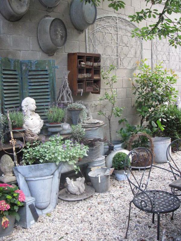 Shabby Chic ιδέες κήπου6