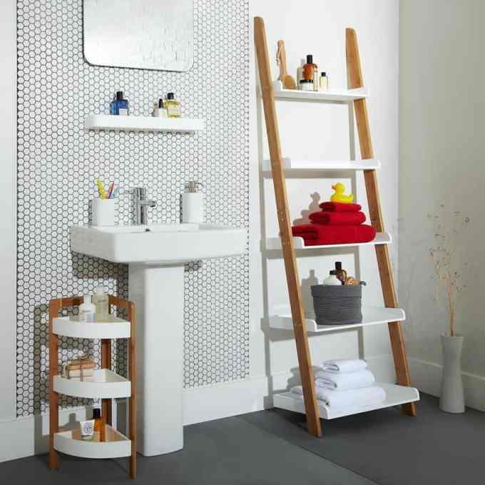 Ιδέες ραφιών με σκάλες19