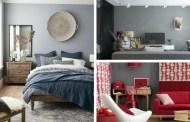 Χρώμα τοίχου ανοιχτό γκρι – ένα χαρακτηριστικό φόντο για κάθε μοντέρνο δωμάτιο