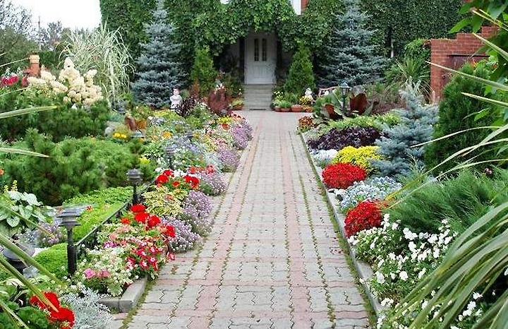 Λουλούδια μπροστά από το σπίτι20