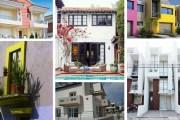 Υπέροχες ιδέες με χρώματα για εξωτερικούς χώρους και προσόψεις σπιτιών