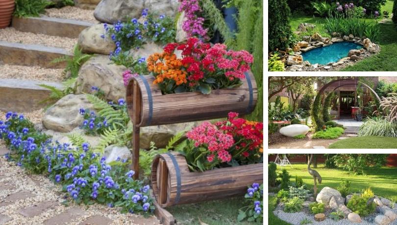 16 Γοητευτικά σχέδια κήπου που αξίζει να δείτε
