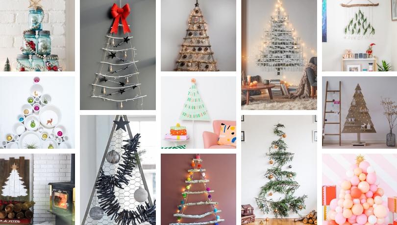 Περισσότερες από 100 DIY ιδέες έμπνευσης για πρωτότυπα και οικολογικά Χριστουγεννιάτικα δέντρα που δεν μοιάζουν με κανένα άλλο