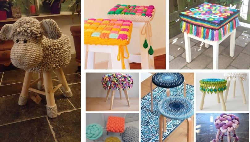 DIY Καλύμματα για σκαμπό και καρέκλες: 29 κομψές ιδέες