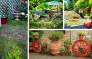 Μοναδικές ιδέες μικρού κήπου ή αυλής:  τρόποι για να δημιουργήσετε ένα φανταστικό χώρο
