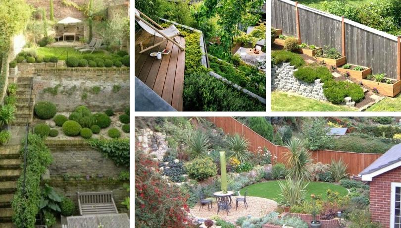 Καταπληκτικές ιδέες για κήπους με κλίση - μετατρέψτε την κλίση σε πλεονέκτημα