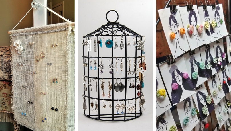 Έξυπνες DIY ιδέες με σταντ και διοργανωτές για τα κοσμήματα