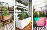 Γλάστρα για μπαλκόνι ή βεράντα: πώς να φτιάξετε τις πιο μοδάτες και πρωτότυπες μόνοι σας