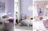 20+ υπνοδωμάτια στο χρώμα της λεβάντας που θα αγαπήσουν όλα τα κορίτσια