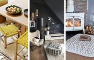 35 Υπέροχες ιδέες με μαλακά και άνετα πλεκτά κομμάτια επίπλων για το φθινόπωρο και το χειμώνα