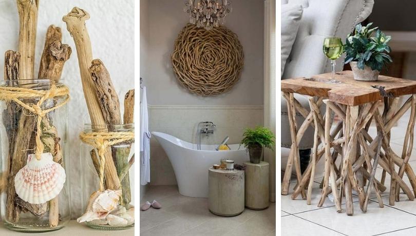 30+ καλλιτεχνικές DIY ιδέες τέχνης από θαλασσόξυλα για να διακοσμήσετε το σπίτι σας
