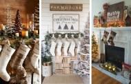 Πώς να διακοσμήσετε το τζάκι σας ΦΑΝΤΑΣΤΙΚΑ για τα Χριστούγεννα
