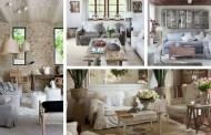 Χωριάτικο σαλόνι στο στυλ της Προβηγκίας: 20 διακοσμητικές ιδέες και έμπνευση