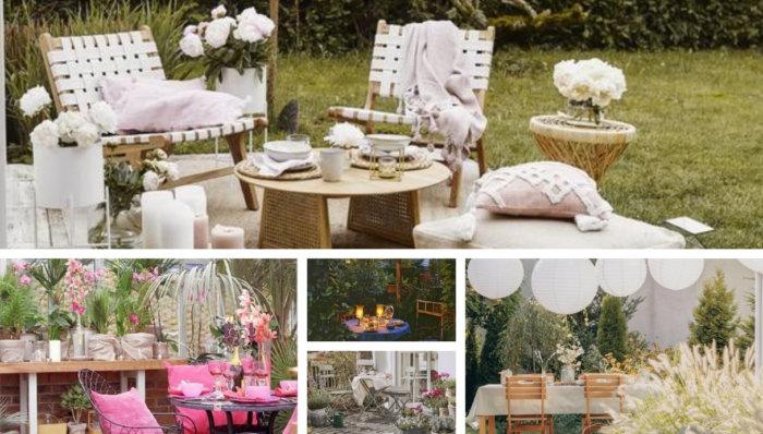 Αίθριο, μπαλκόνι και βεράντα σε ρομαντικό στυλ. Πώς να διακοσμήσετε ένα άνετο μέρος για ξεκούραση;