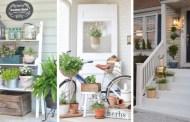 Διακόσμηση του χώρου εξωτερικής εισόδου για το καλοκαίρι: 22 όμορφες ιδέες γεμάτες έμπνευση