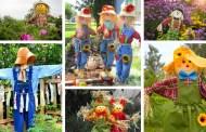 Πώς να φτιάξετε ένα σκιάχτρο για τον κήπο: 33 ενδιαφέρουσες ιδέες προστασίας και  διακόσμησης