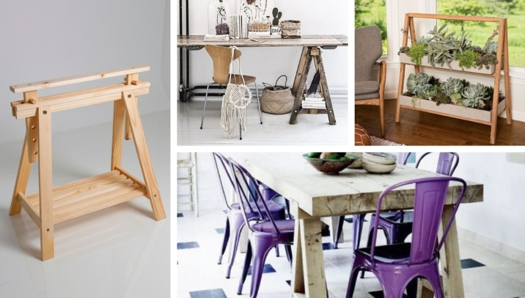 Καβαλέτο: Τι είναι, και 40 δημιουργικές και λειτουργικές DIY ιδέες επίπλων