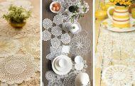 Πλεκτά ρανερ με το βελονάκι - 40 ιδέες για να φέρετε τα προικιά σας στην διακόσμηση του σπιτιού σας