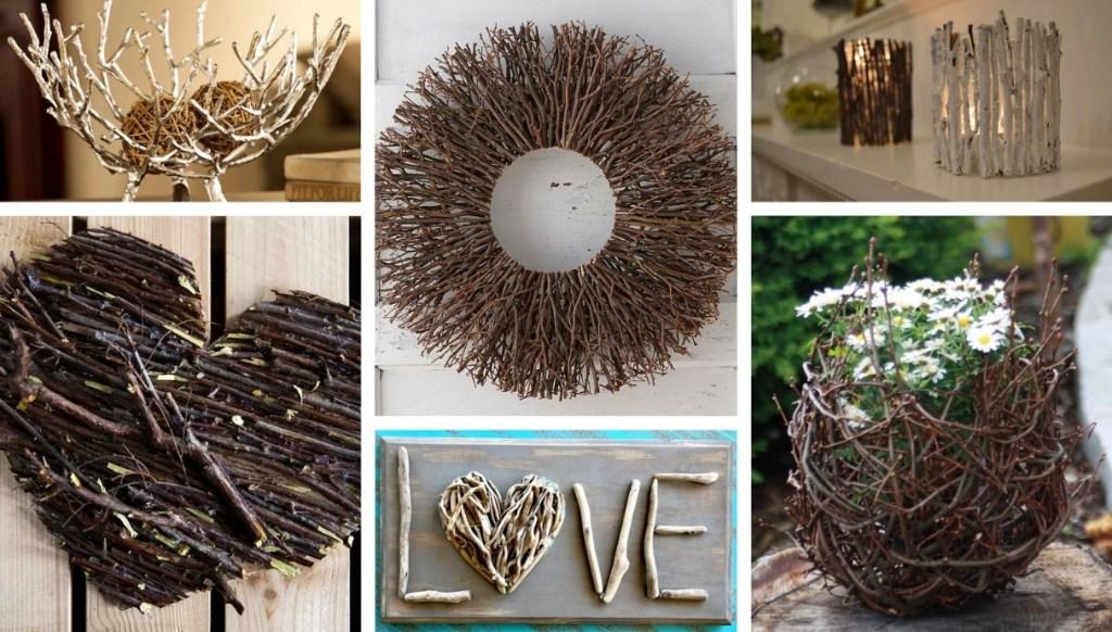 Πως να δημιουργήσετε με απλά κλαδάκια όμορφες φυσικές DIY διακοσμήσεις για το φθινόπωρο και το χειμώνα