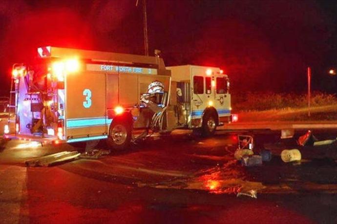 Fort Worth Fire Dept. Crash _7836671575686989492